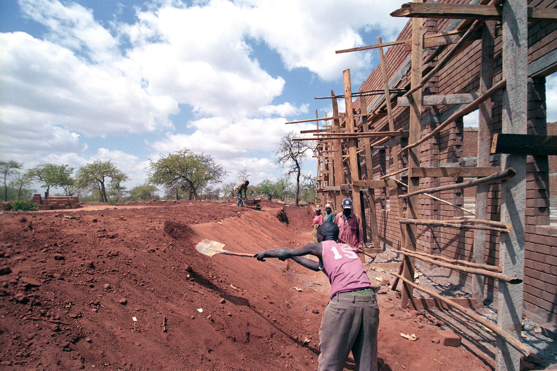 Villaggio in costruzione - Nairobi : Stefano Cardone Photographer Reportage