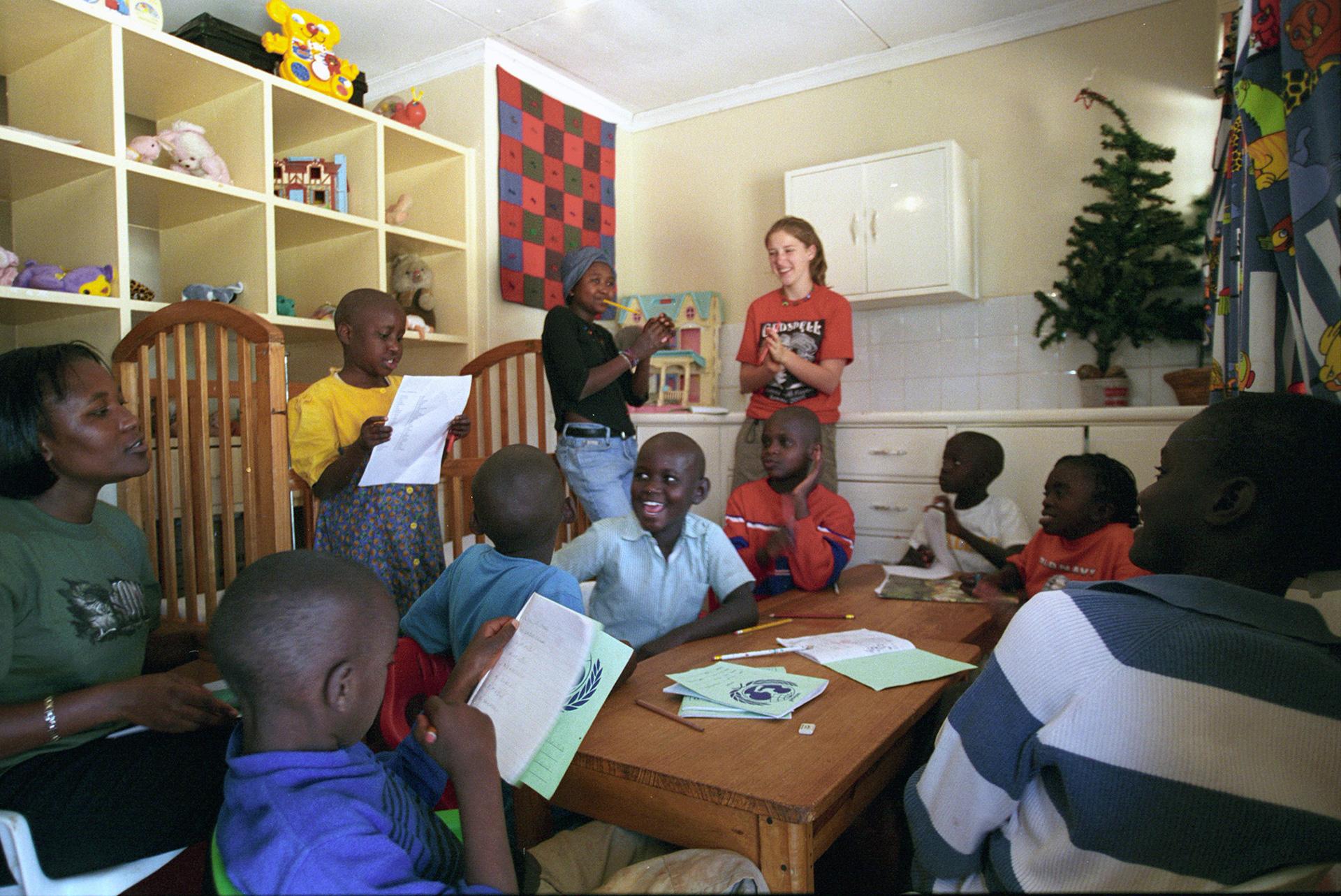 Case per ospitare piccoli malati - Nairobi : Stefano Cardone Photographer Reportage