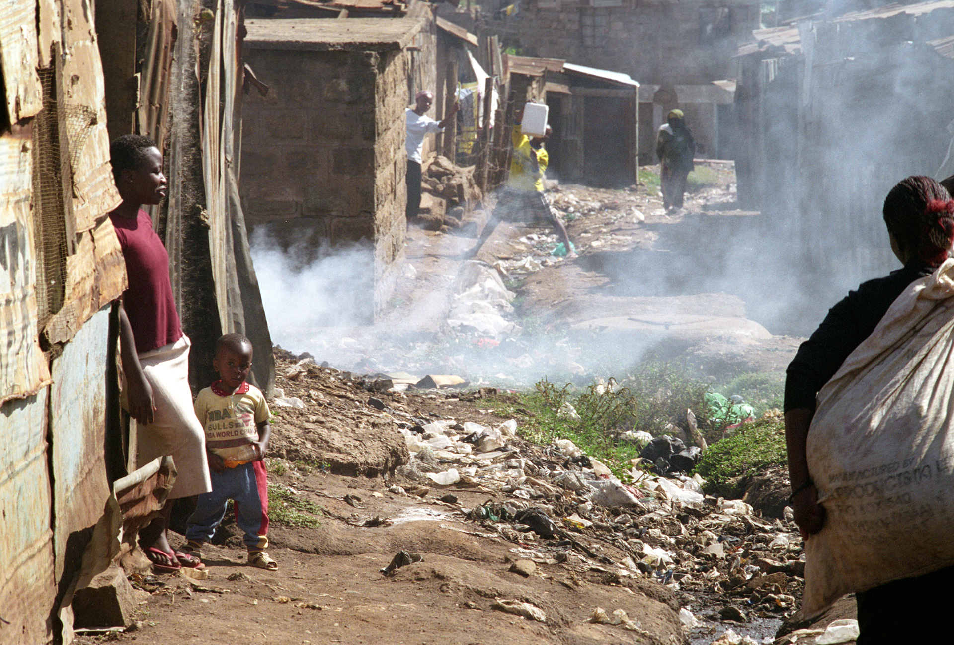 Bidonville Nairobi: Stefano Cardone Photographer Reportage